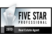 2013 FIVE STAR Real Estate Agent