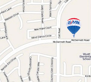 Map to RE/MAX Dallas Suburbs