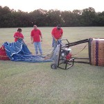 Preparing the RE/MAX Balloon for Flight
