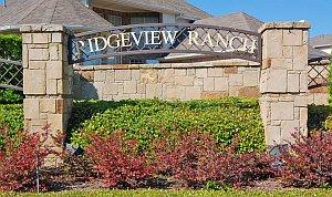 Ridgeview Ranch Plano Texas