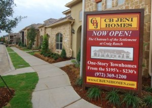 The Chateaus at Craig Ranch SIngle Level Luxury Townhomes