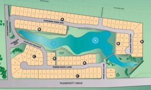 Allen TX The Preseve in Allen Plat Map