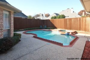 3925 Sagamore Hill Pool and Back Yard