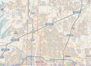 North Dallas Map