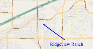 Map of Ridgeview Ranch in Plano, Texas