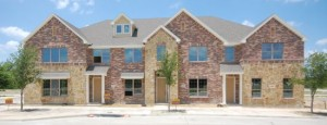 Brick Row Townhomes - First Unit Near Completion