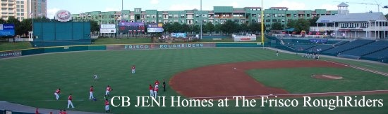 CB JENI Homes at the Frisco RoughRiders