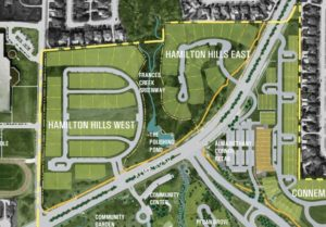 Plat Maps for Hamilton Hills in Allen Texas