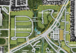 Plat Maps for Hamilton Hills in Allen Texas