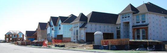 Richwood Frisco Texas Under Construction August 2012