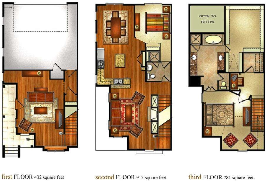 Aldridge Floorplans