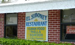 El Siboney Cuban Restaurant in Key West Florida