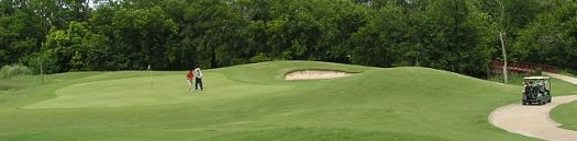 Golf Course Homes in Allen Texas