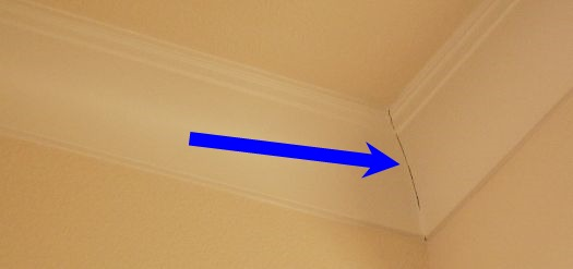 Cracks in Crown Moldings