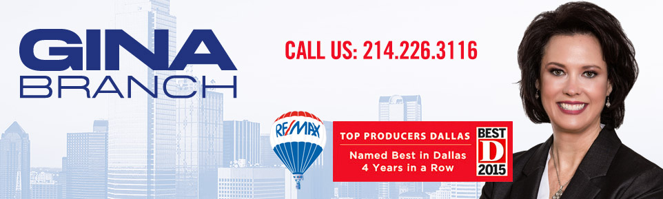 Gina Branch - Serving the North Dallas Suburbs - RE/MAX Dallas Suburbs